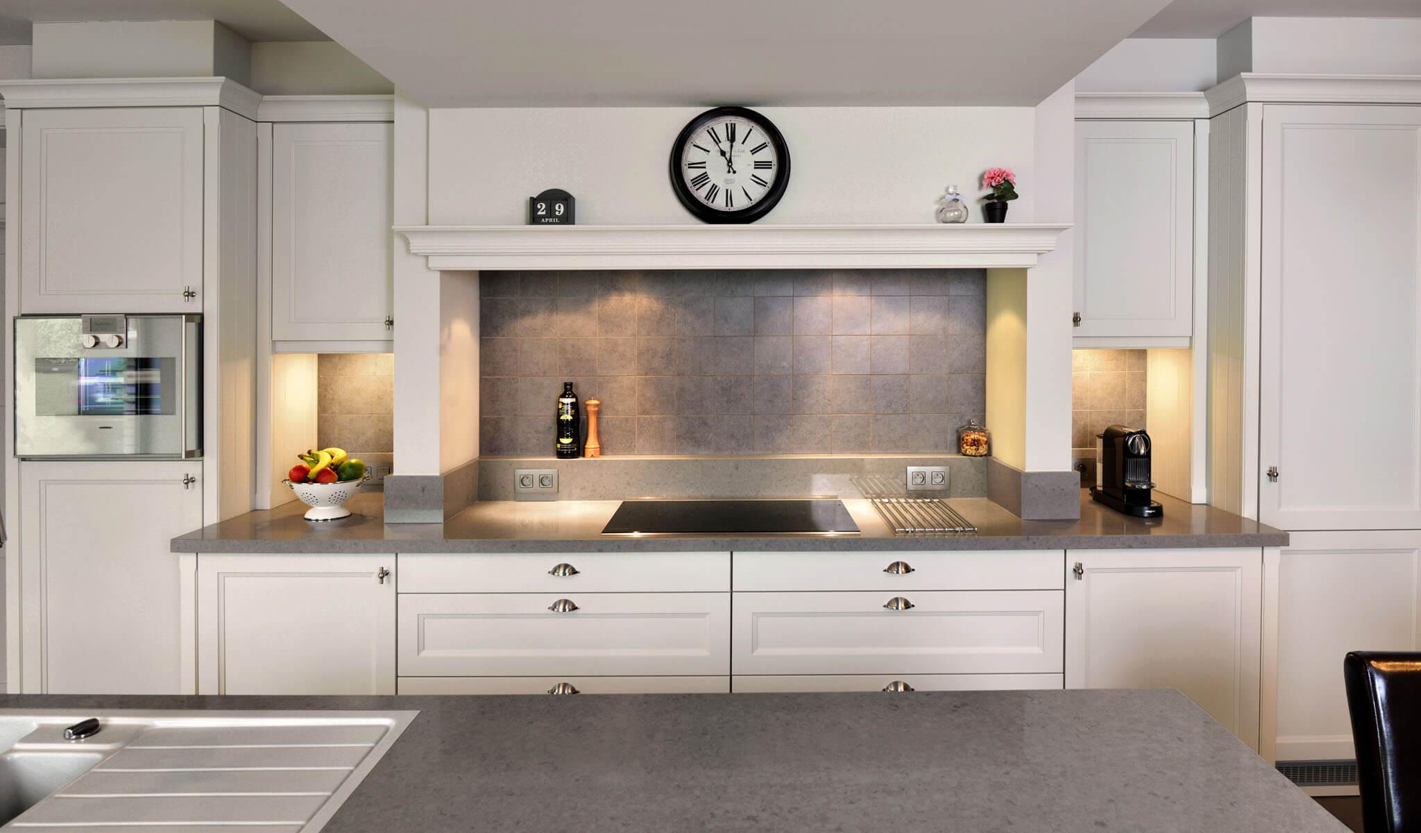Landelijk Keuken Gietvloer : Landelijke vloer keuken realisatie keuken en pvc vloeren marboma