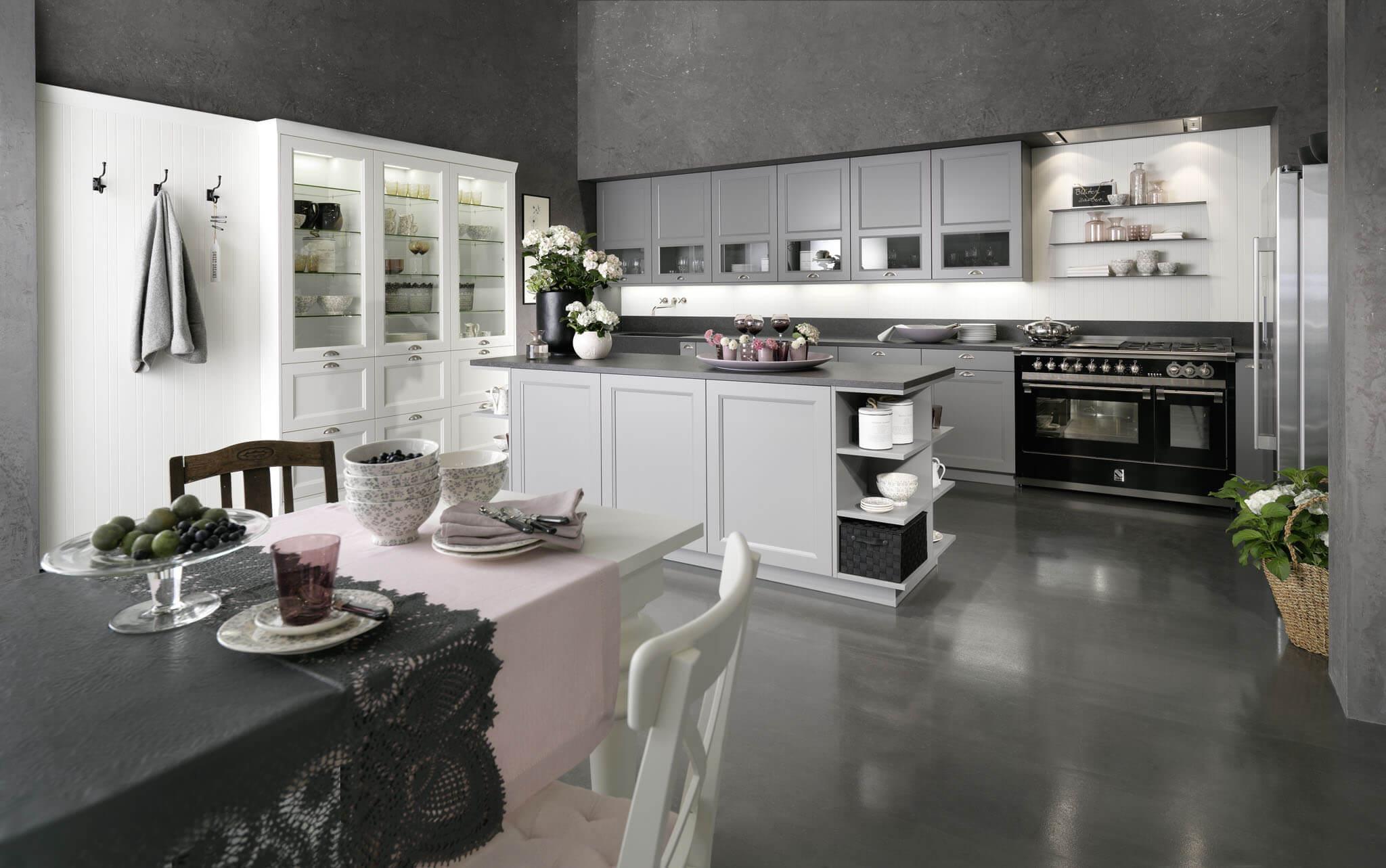 Landelijke of cottage keuken princess keukens limburg